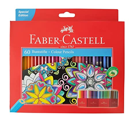 Amazoncom Faber Castell Premium Color Pencils 60 Colour Office - Premium-color-pencils
