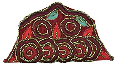 Anas Embroidery Party Ethnic Clutch Traditional Studded Clutches with Magnetic Closure Ladies Purse Gift for women