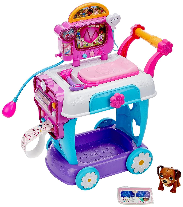 Amazon.com: Doc McStuffins Doc Mcstuffins Hospital Care Cart Toy: Toys & Games