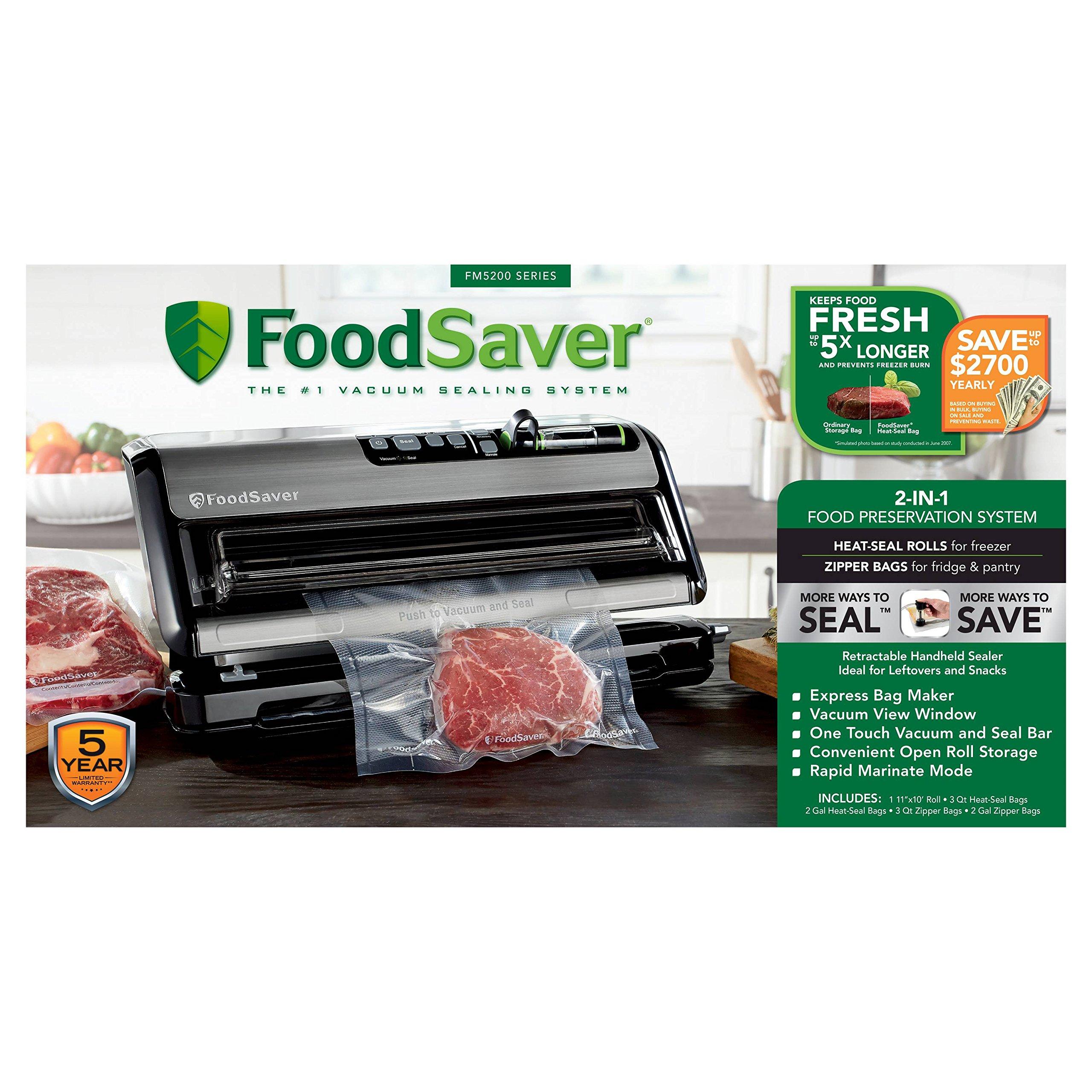 FoodSaver FM 5200 Series by FoodSaver