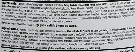 Amix Whey Pure Fusion 1 Kg Frutas Del Bosque 1000 g