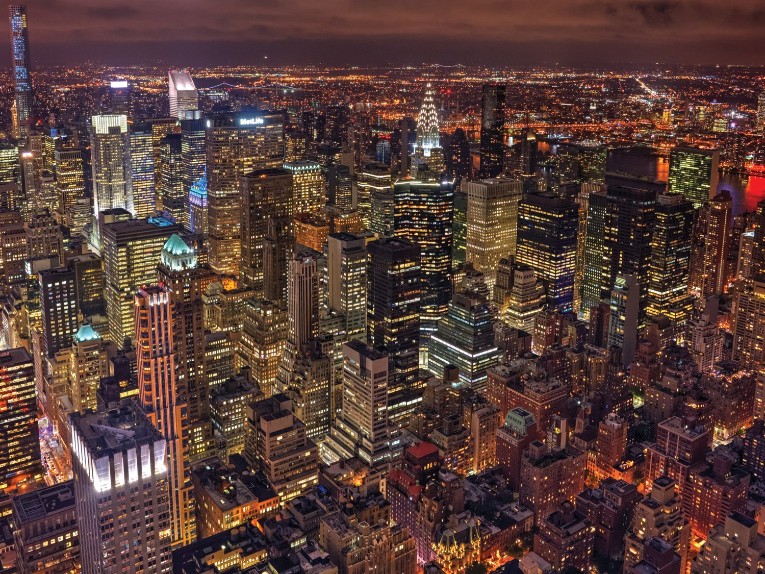 Jplo9|#Jp London PMUR1X999034 Jpl and Milton Mpounas Present Night Life New York City Light Skyline 4 Ft by 3 Ft Peel and Stick Fully Removable Wall Mural