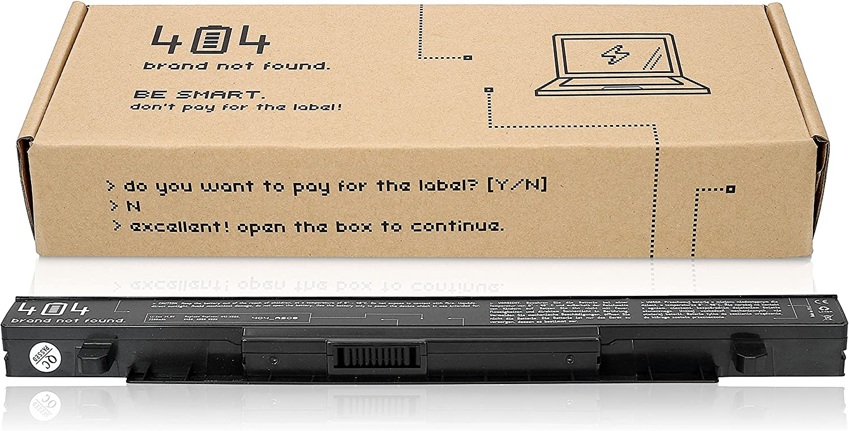 Wessper Batería del Ordenador portátil para ASUS R510J (15V, 2200 ...