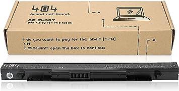 Wessper Batería del Ordenador portátil para ASUS R510J (15V ...
