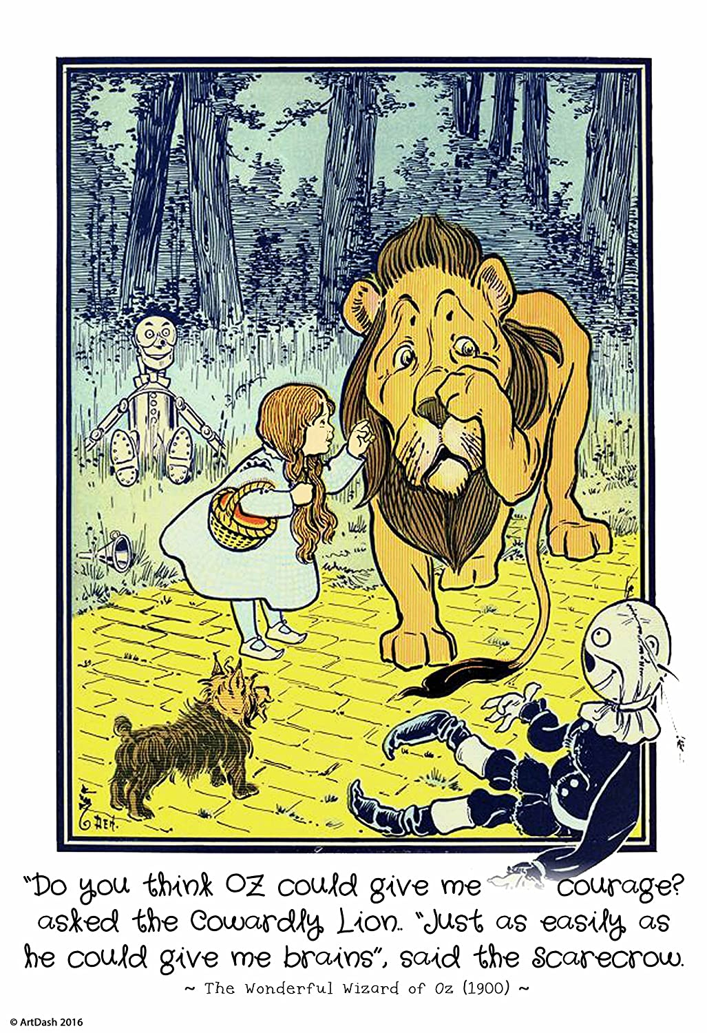 Amazon.com: The Wonderful Wizard of Oz Illustrations: Small 13\