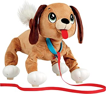 Peppy Pets Bouncy Walking Action Stuffed Puppy