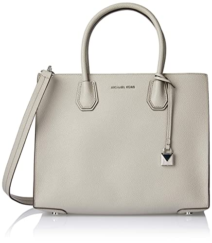 d59499fabbfb MICHAEL Michael Kors Women's Large Mercer Tote, Pearl Grey, One Size ...