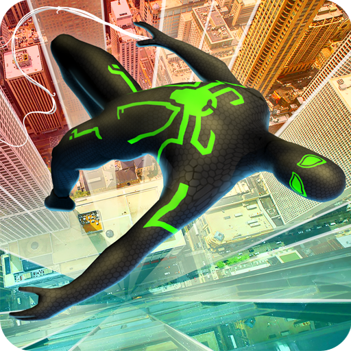 Spider Boy Superhero Vs Iron Tentacle