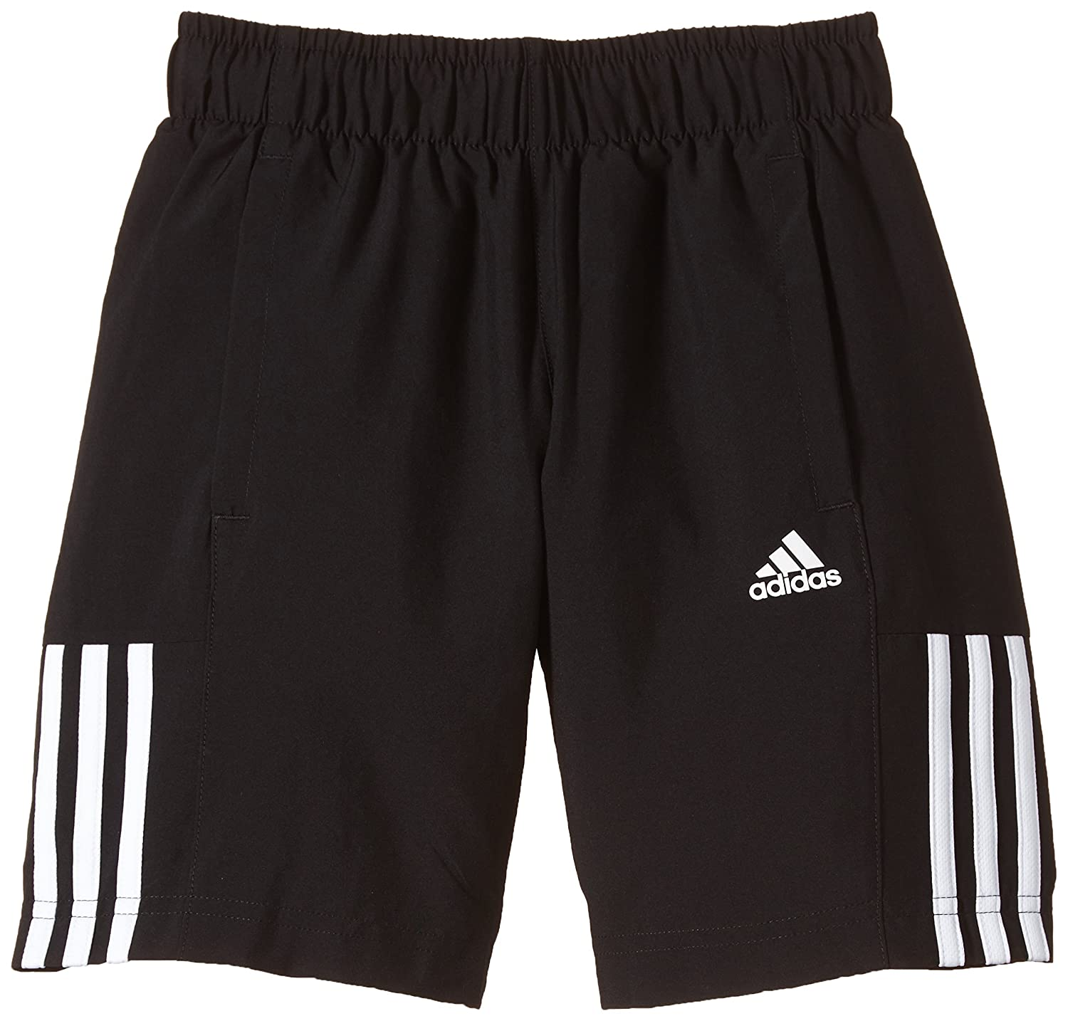 adidas Boys' Essentials Mid 3-Stripes Woven Shorts Size 140 S23288