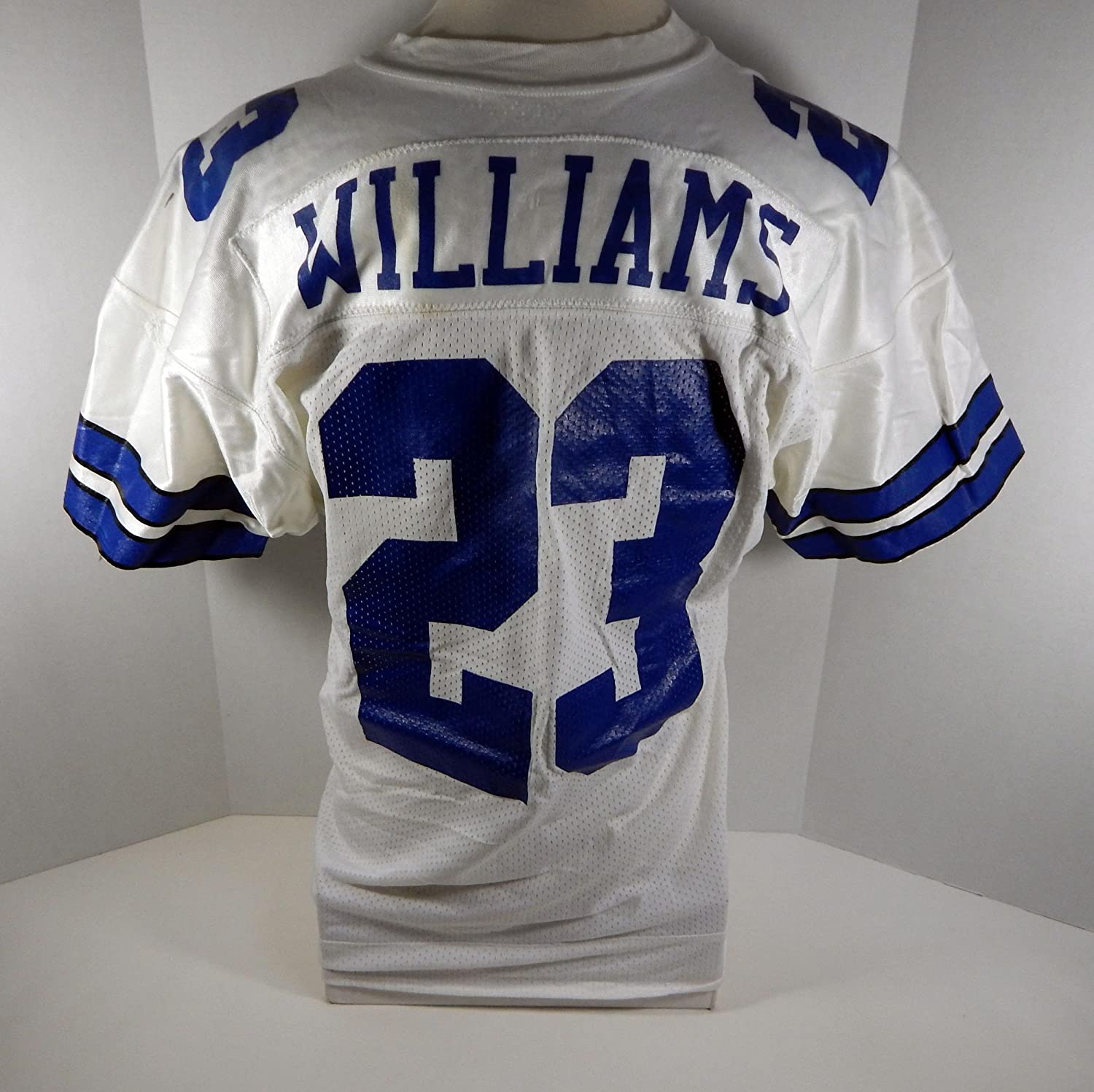 Dallas Cowboys Robert Williams #23 Game Issued White Jersey - Unsigned NFL Game Used Jerseys