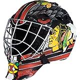 Franklin Sports Team Licensed NHL Hockey Goalie Face Mask - Goalie Mask for Kids Street Hockey - Youth NHL Team Street Hockey