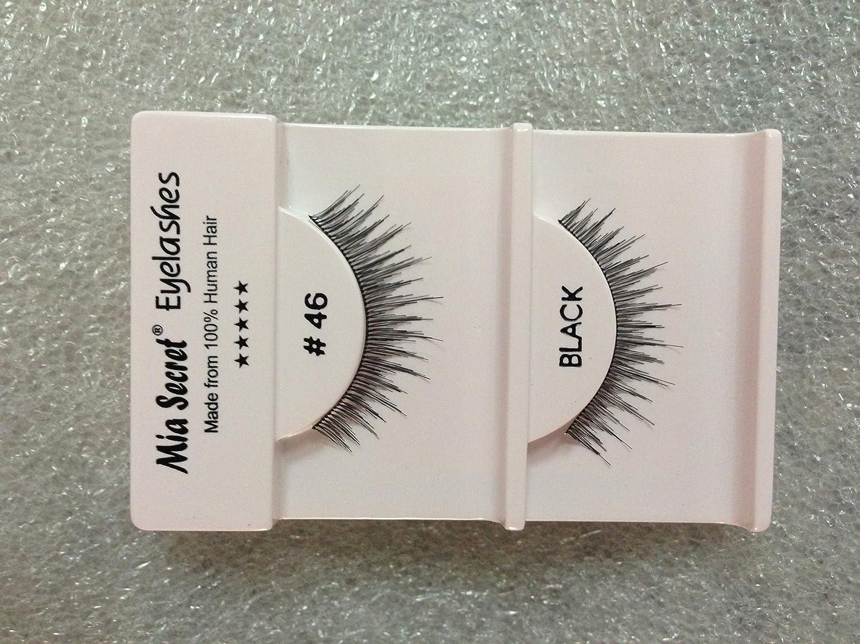Amazon Eyelashes Mia Secret 100 Human Hair Fake Eyelashes