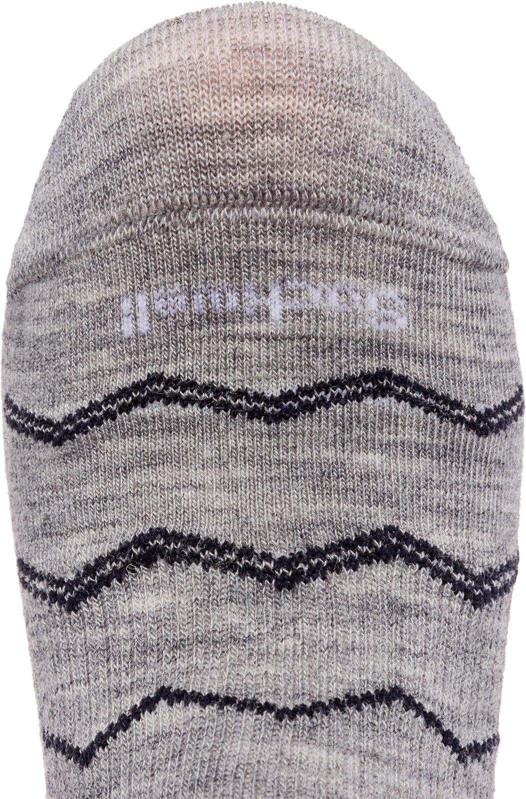 5a1abe1261 Sockwell Women's Plantar Fasciitis Firm Compression Socks, Plantar Quarter  Grey, Medium/Large - SW14W < Compression Socks < Sports & Outdoors - tibs