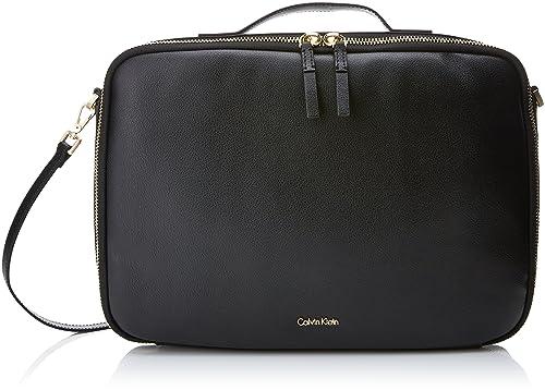 dae2f204ba Calvin Klein Frame Laptop Bag, Women's Black, 5x27x38 cm (B x H T ...