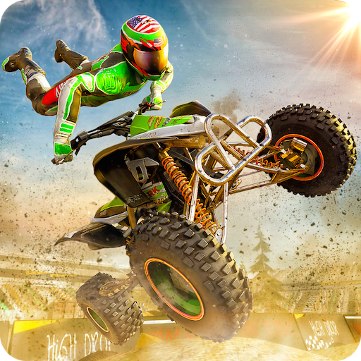 Stunt Extreme Man Down Hill Jumping Feast Adventure 3D: Atv Hill Climbing Racing Simulator Game Free For ()