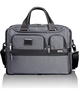 4d7f8b6af14 TUMI - Alpha 2 Expandable Organizer Laptop Brief Briefcase - 15 Inch  Computer Bag for Men