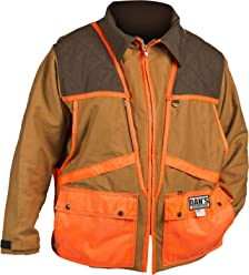 9046d3679c264 Dan's Upland Game Coat, Front Loading Game Pouch, Made in U.S.A.