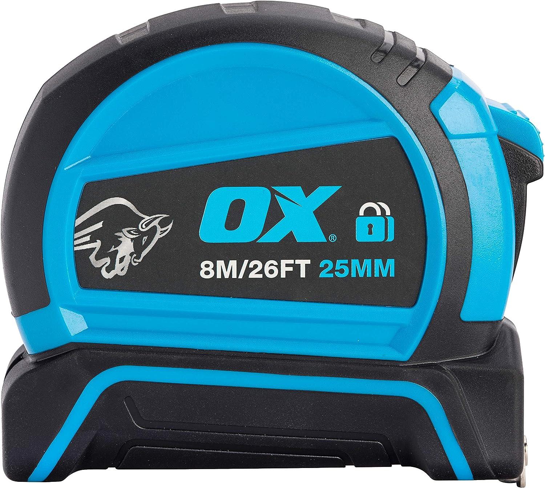 3 m OX Tools OX-P505203 Cinta m/étrica