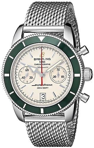 Breitling A2337036-G753 - Reloj de pulsera hombre, acero inoxidable, color Plata: Breitling: Amazon.es: Relojes