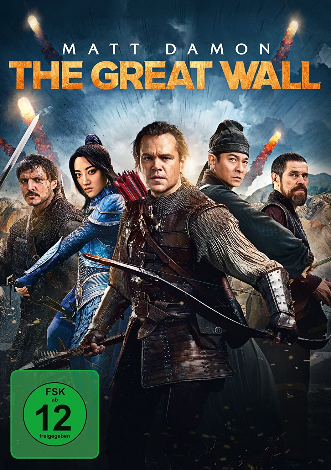 amazon com the great wall movies tv