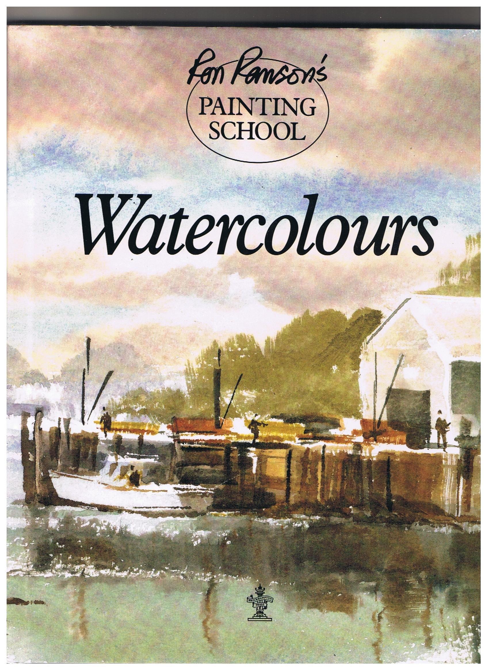 Watercolours (Ron Ransons painting school): Amazon.es ...