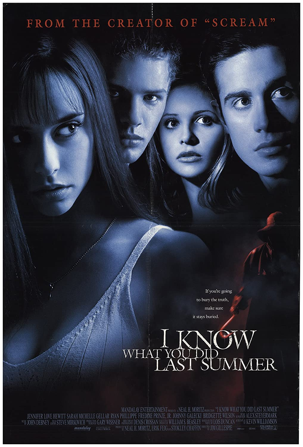 Link to Catalogue record for I know what you did last summer dvd