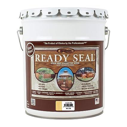 Amazon.com: Sellador de madera para exteriores Ready Seal ...