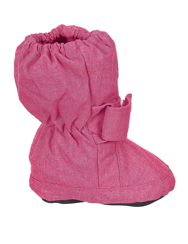 Sterntaler M/ädchen Baby Stiefel mit Klettverschluss Alter: 6-9 Monate Artikel-Nr.: 5101810 Farbe: Magenta melange Gr/ö/ße: 17//18