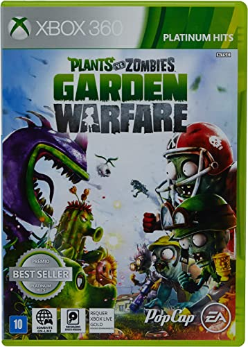 Plants Vs Zombies Garden Warfare Xbox 360 Amazon Com Br