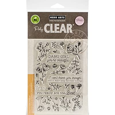 Hero Arts CM258 Clear STMP Youre Beau, us:one Size, You're Beautiful: Arts, Crafts & Sewing