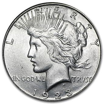 1923 Peace Silver Dollar Brilliant Uncirculated BU