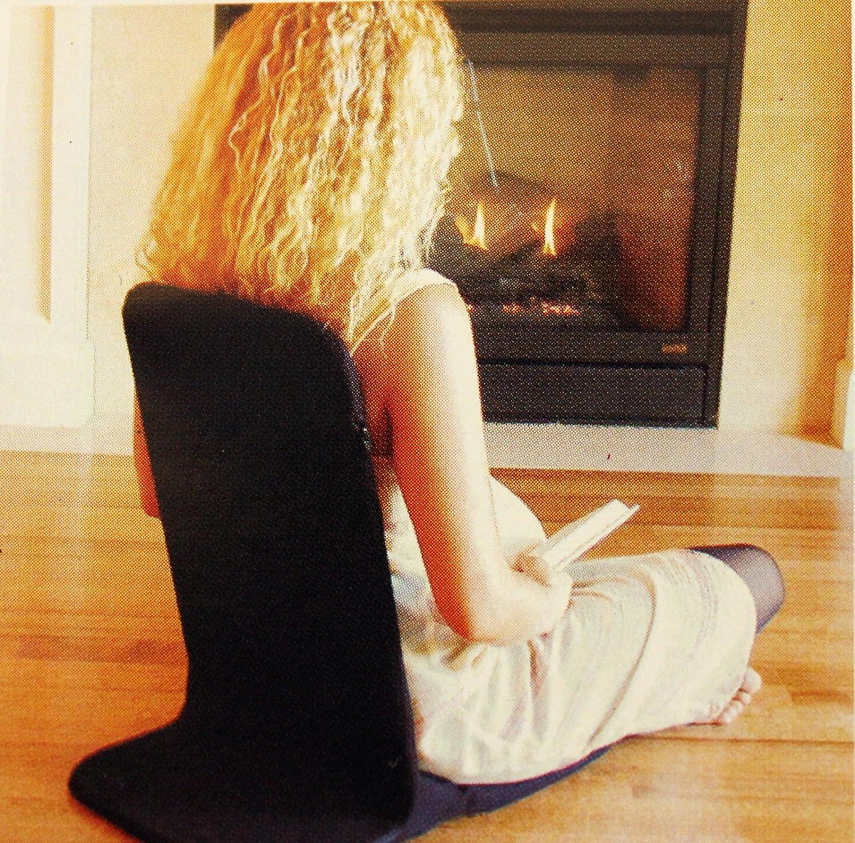 Tragbar Boden Sessel, Memory Foam, gepolsterter Rücken Rahmen ...