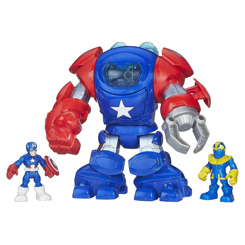 Super Hero Adventure Captain America Armor Figure HAT3A B5408AS0