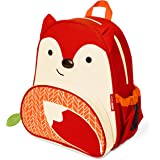 "Skip Hop Zoo Insulated Toddler Backpack Ferguson Fox, 12"" School Bag,"