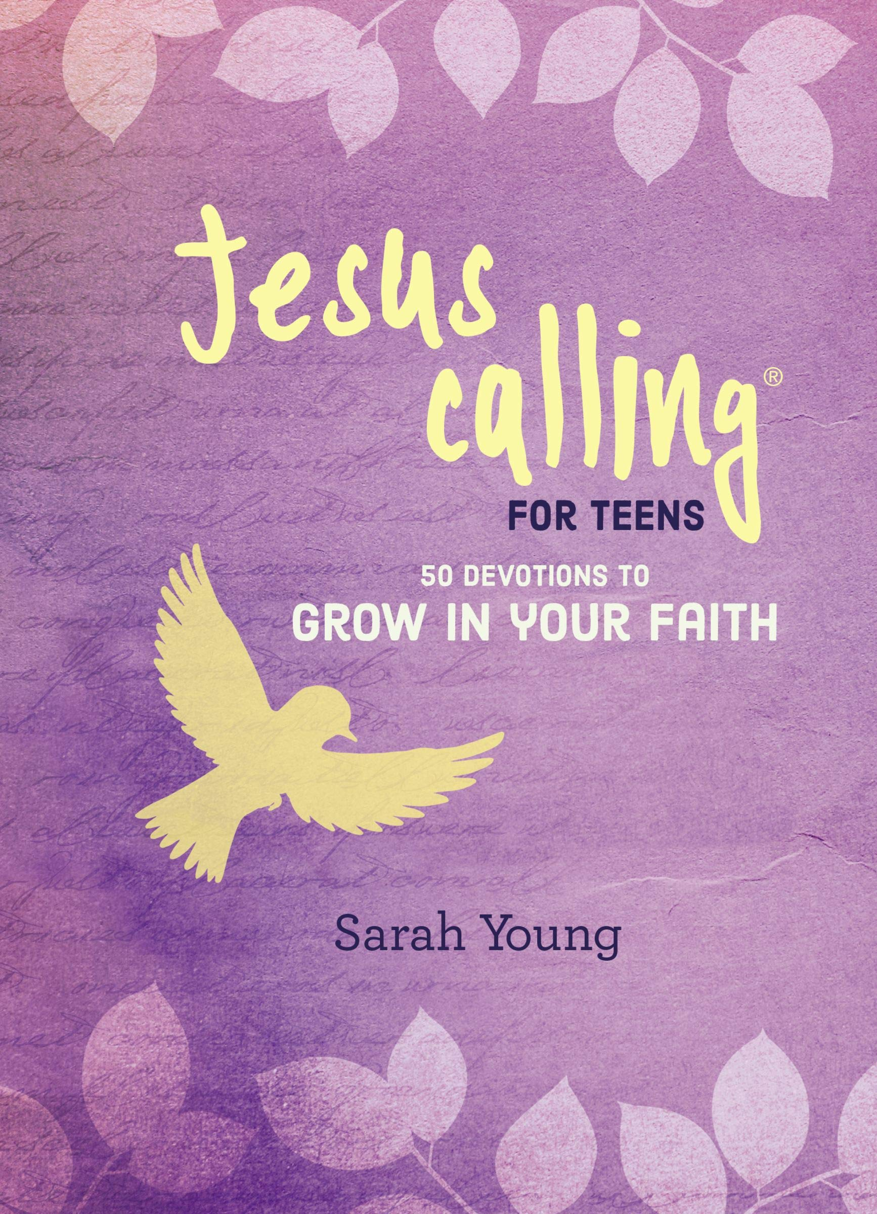 Jesus Calling: 50 Devotions to Grow in Your Faith: Sarah Young:  9781400324392: Amazon.com: Books