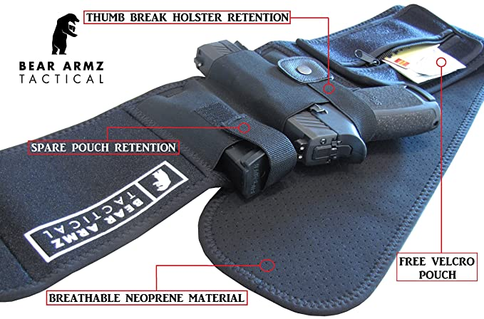Holster for Concealed Carry IWB Holster Waist Band Handgun Carrying System  VJ Sporttaschen & Rucksäcke