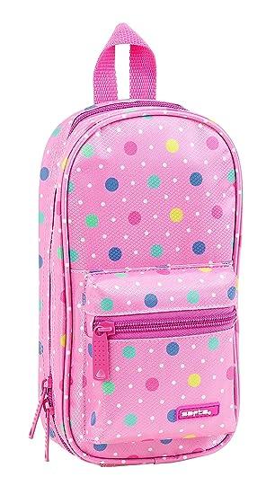 Safta Neceser Con 4 Estuches y útiles Safta Dots Pink ...