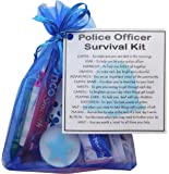 Novelty Police Officer Survival Kit Gift (policeman gift, policewoman gift, police gift for new police officer, secret santa police)