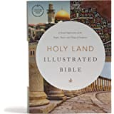 CSB Holy Land Illustrated Bible, Hardcover, Black Letter, Full-Color Design, Articles, Photos, Illustrations, Two Ribbon…