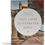 CSB Holy Land Illustrated Bible, Hardcover, Black Letter, Full-Color Design, Articles, Photos, Illustrations, Two Ribbon Mark