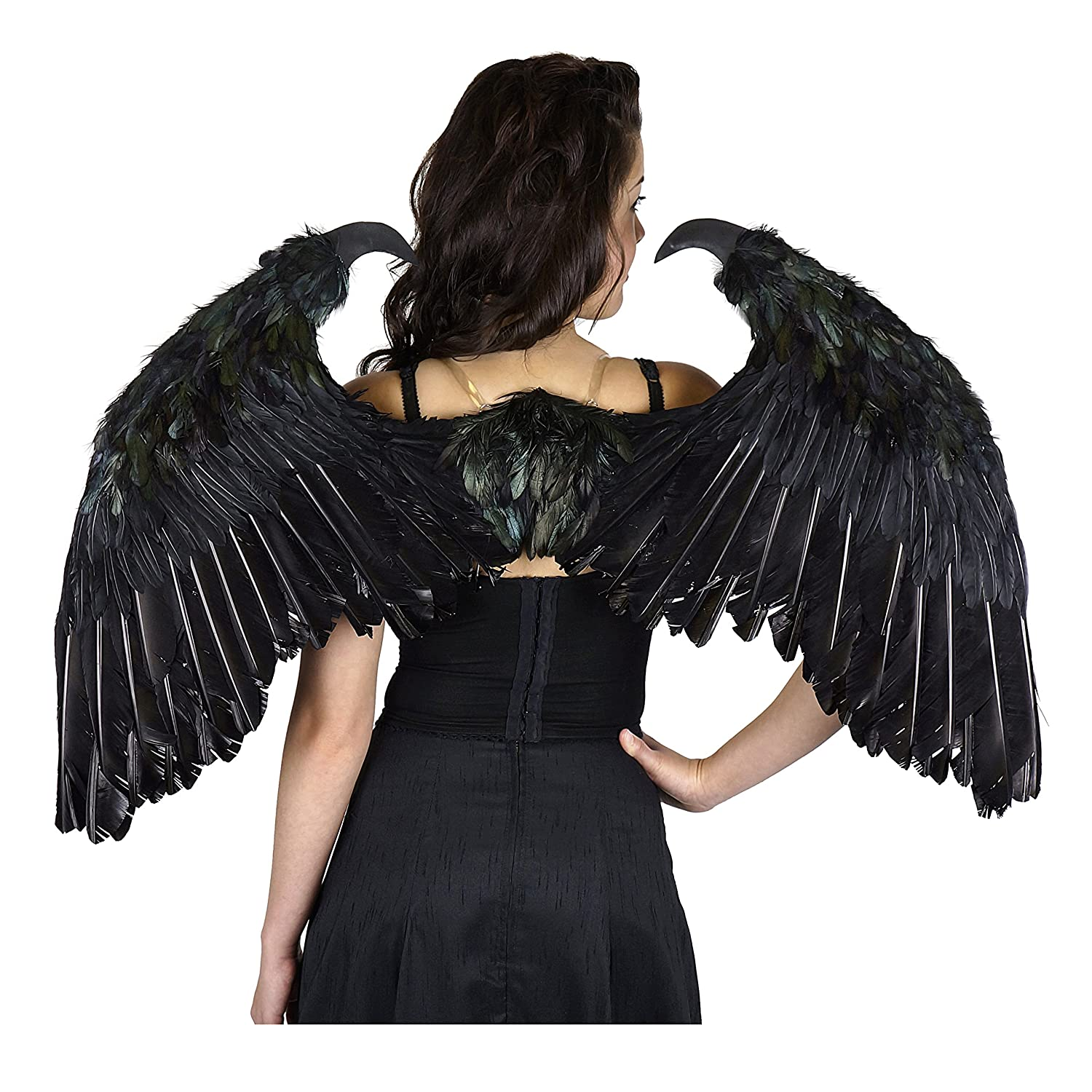 Small Maleficent-Inspired Feather Wings