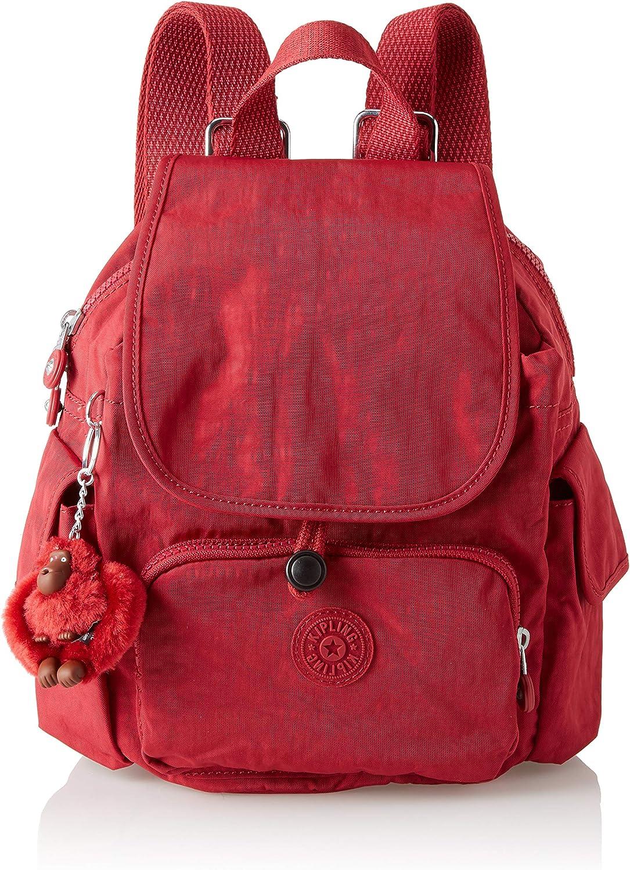 Kipling City Pack S Mini Backpack Radiant Red C