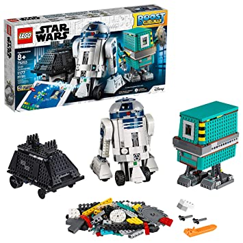 LEGO Star Wars Boost Droid Commander 75253 Learn to Code Educational Tech Toy for Kids, Fun Coding Stem Set with R2-D2 Buildable Robot Toy, New 2019 ...