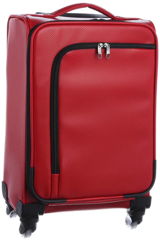 [ヒデオワカマツ] スーツケース アイラ 容量23.3L 縦サイズ46cm 重量3.1kg 85-75510 B00BCDJTY2 レッド
