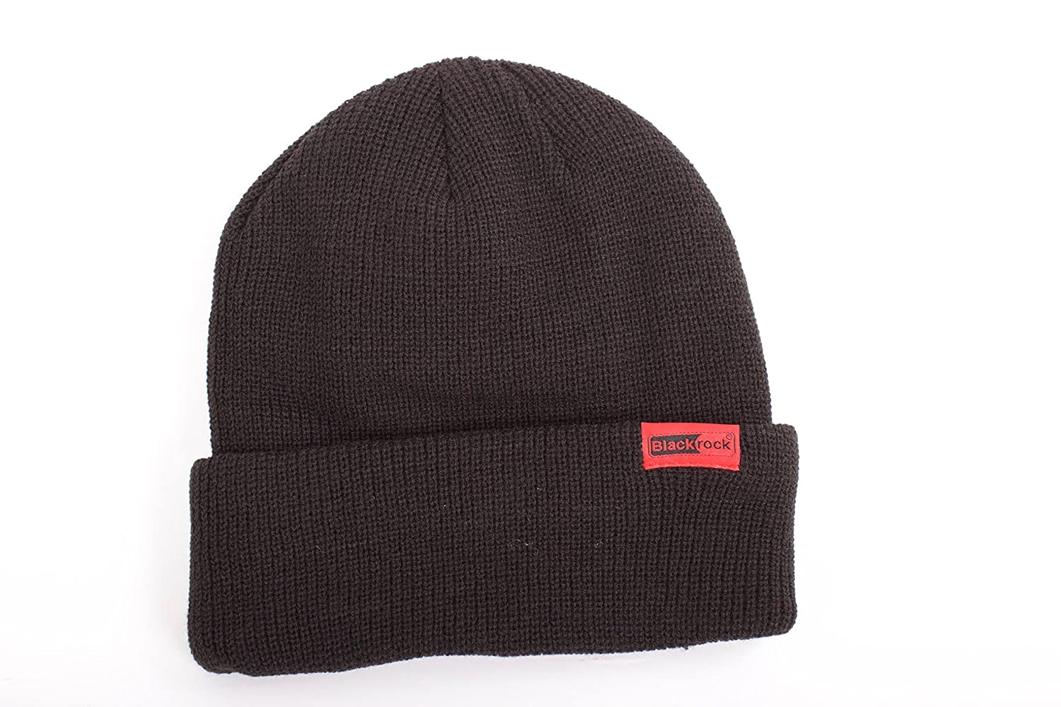 1761a5f29 Blackrock Men's Black Heat Thermal Insulated Hat