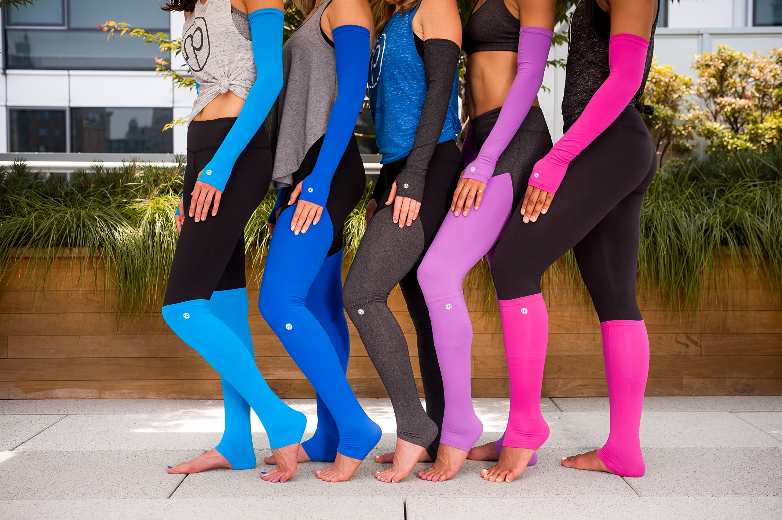 Nicepipes Arm Warmers for Women - UV Protection, Mild Compression, Arm Sleeves Perfect for Running, Cycling, and Yoga (Orchid)