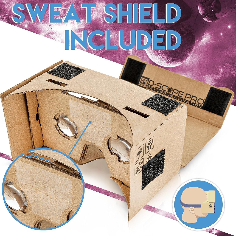Amazon D Scope Pro Google Cardboard Kit With Straps 3d Virtual