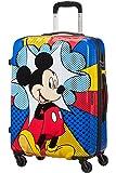 Disney Disney Legends - Spinner 65/24 Alfatwist Bagaglio a mano, 65 cm, 62.5 liters, Multicolore (Mickey Flash Pop)