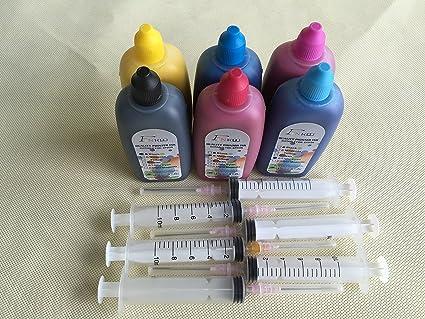 Marca f-ink @ 6 x 100ml calidad sublimación de tinta para ...
