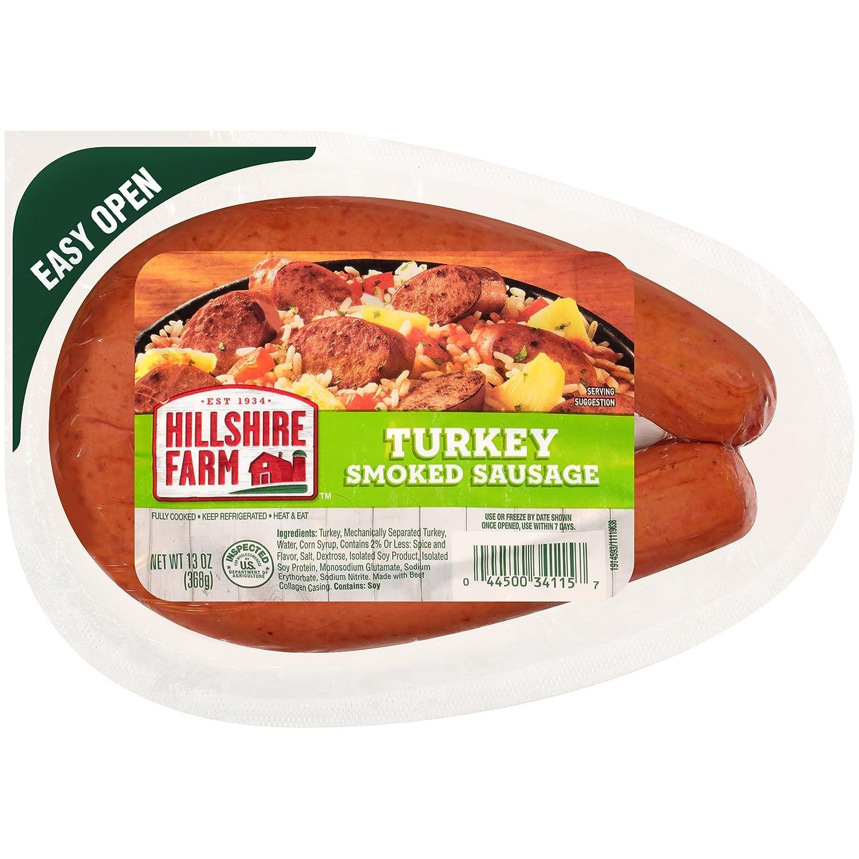 Hilshire Farms Turkey Smoked Sausage, 13 oz